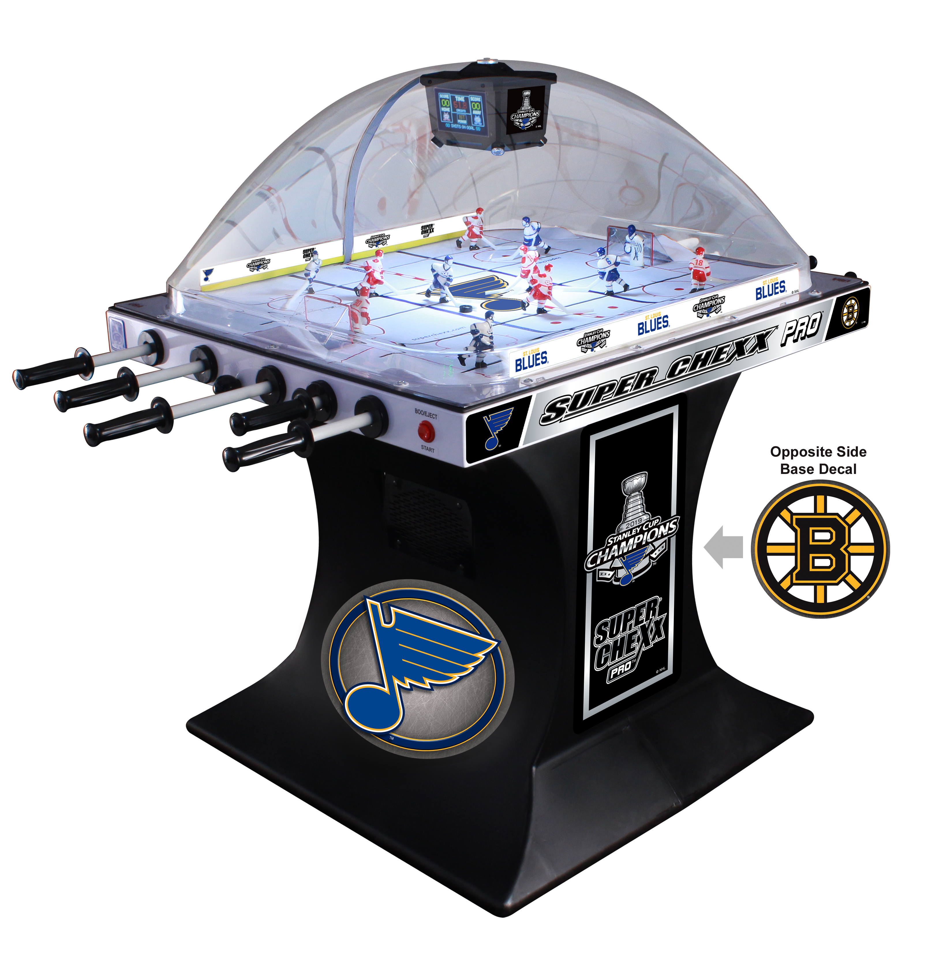 NHL® Licensed 2019 Stanley Cup Champions Edition ICE Super Chexx PRO®