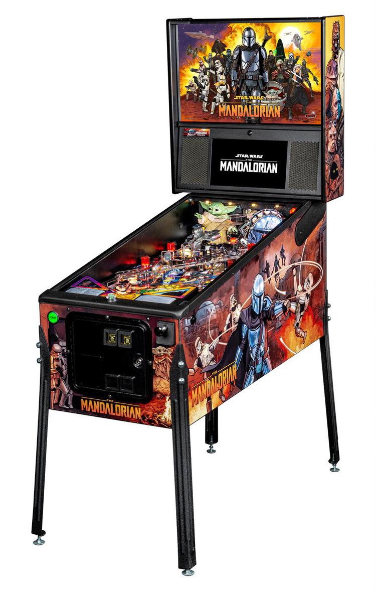 Home Arcade Games | Mandalorian Pinball Premium