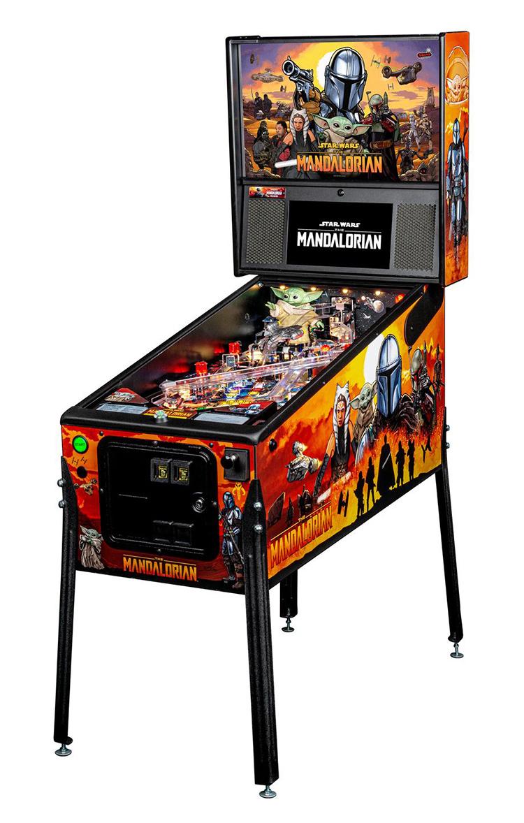 Home Arcade Games | Mandalorian Pinball Pro