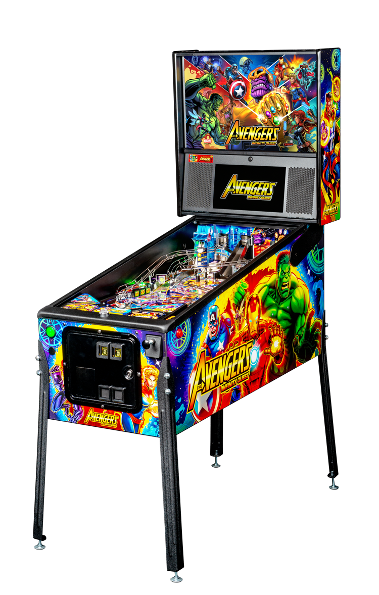 Marvel Avengers Infinity Quest Pinball Pro